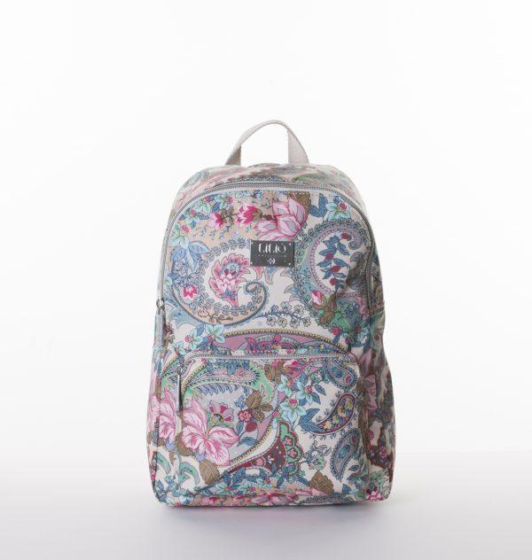 backpack zand roze paisley lilio