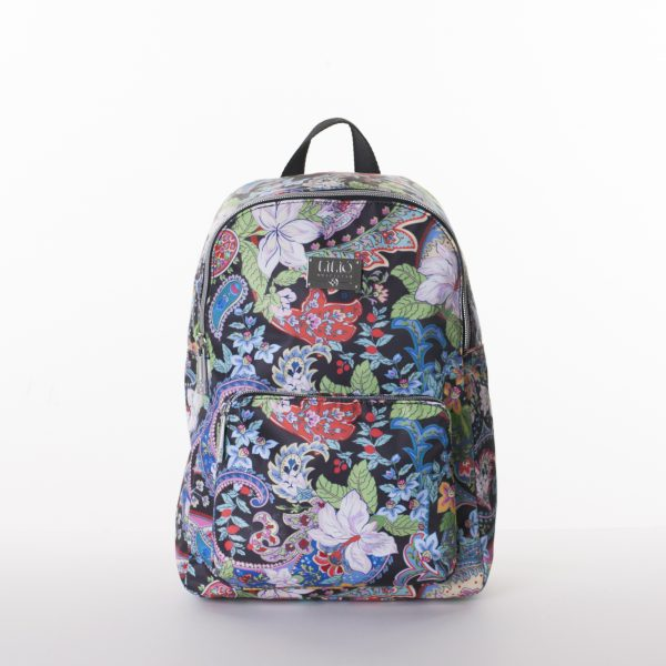 black paisley backpack lilio