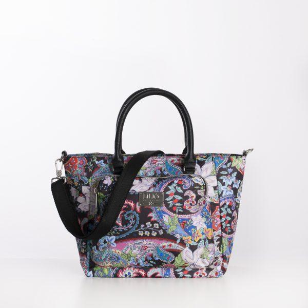 black paisley lilio oilily handbag