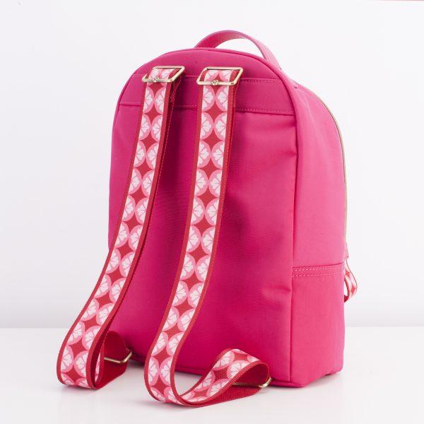 hot pink backpack soft