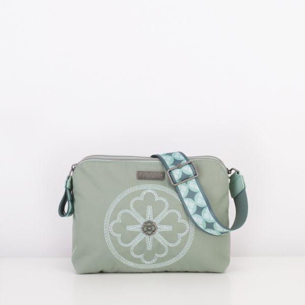 mint green shoulderbag lilio schoudertas groen