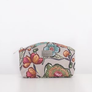 medium cosmetic bag sand