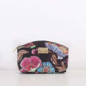 medium cosmetic bag black