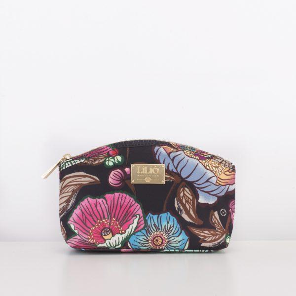 medium cosmetic bag black