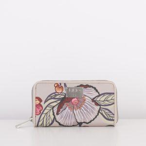 zip wallet sand lilio oilily
