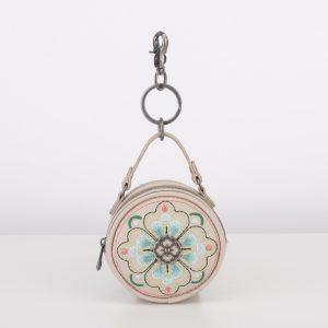 keyhanger pouch white