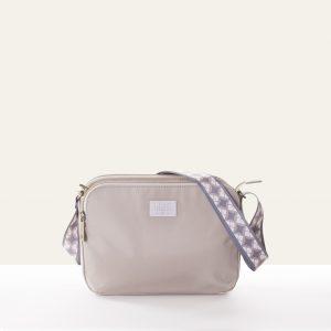 off white creme shoulder bag