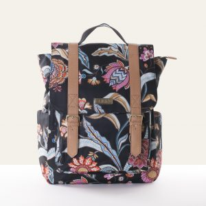 backpack black lilio oilily