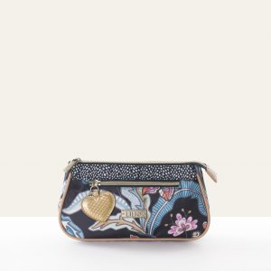 basic cosmetic bag black