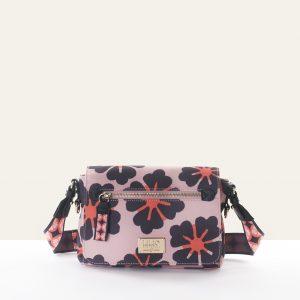 clover shoulder bag pink